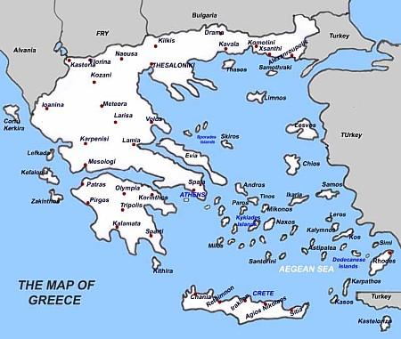 путешествие по Греция