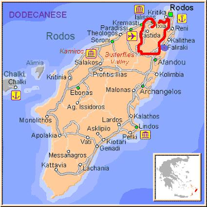 путешествие по Родосу