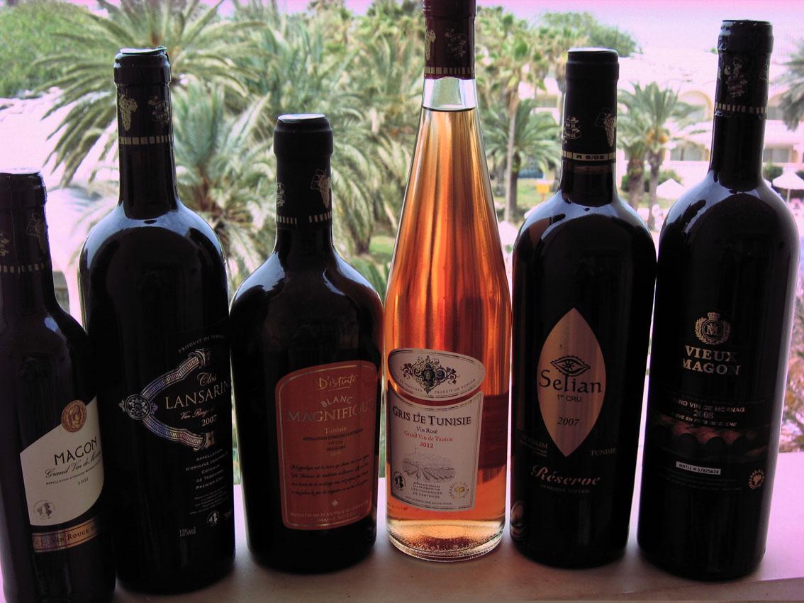 Тунисское вино, ликеры